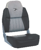 Wise Fishing Boat Seat (Grey/Charcoal)