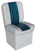 Wise Jump Boat Seat (Grey/Navy)