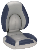 Attwood Centric Fully Upholstered Seat (Grey/Blue)