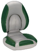 Attwood Centric Fully Upholstered Seat (Grey/Green)