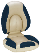 Attwood Centric Fully Upholstered Seat (Tan/Blue)