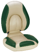 Attwood Centric Fully Upholstered Seat (Tan/Green)