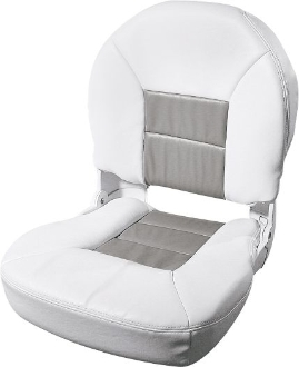 Tempress Profile Deluxe Boat Seats (White/Grey)