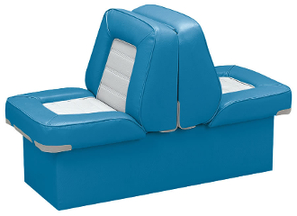 Wise Deluxe Lounge Seat (Light Blue/White)