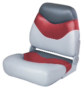 Wise Boat Seat (Grey/Red/Charcoal)
