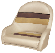 Wise Deluxe Bucket Captain's Chair (Sand/Chesnut/Gold)