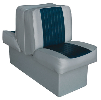 Wise Lounge Seat (Grey/Navy)
