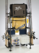Organized Fishing Wire Tackle Trolley