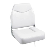 Bass Pro Shops Extreme Hi-Back Boat Seat (White)