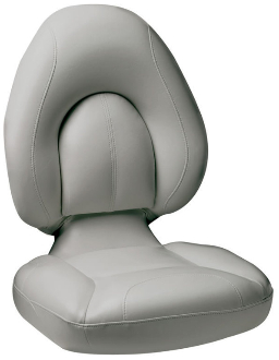 Attwood Centric Fully Upholstered Seat (Grey/Grey)