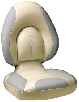 Attwood Centric Fully Upholstered Seat (Tan/Grey)
