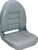 Tempress High-Back Navistyle Boat Seat (Grey)