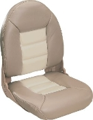 Tempress High-Back Navistyle Boat Seat (Tan/Sand)