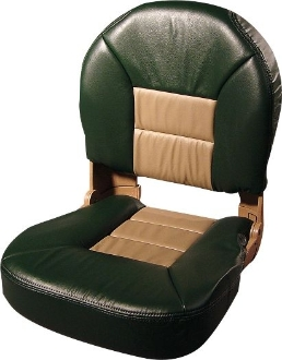 Tempress Profile Deluxe Boat Seats (Green/Tan)