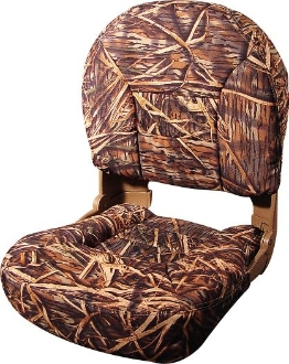 Tempress Profile Deluxe Boat Seats (Mossy Oak Shadow Grass)