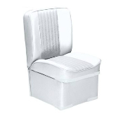Bass Pro Shops Deluxe Jump Boat Seat (White)