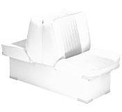 Bass Pro Shops Deluxe Lounge Boat Seat (White)